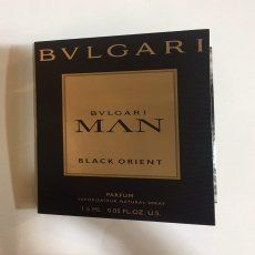 Bvlgari Man Black Orient Sample for men-سمپل بلگاری من بلک ارینت مردانه