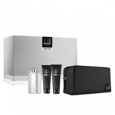 Desire Silver Dunhill Gift Set for men-ست دانهیل دیزایر سیلور مردانه 4 تیکه