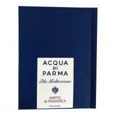 Acqua Di Parma Blue Mediterraneo Mirto di Panarea Sample for men and women-سمپل آکوا دی پارما بلو مدیترانه میرتو دی پاناریه مردانه  و زنانه