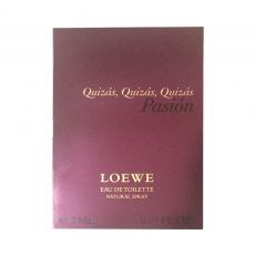 Quizas, Quizas, Quizas Pasion Loewe Sample for women-سمپل لوه کوئیزاس ، کوئیزاس ، کوئیزاس پشن زنانه