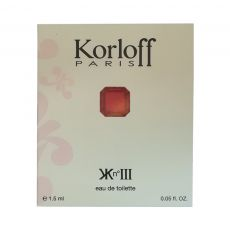 Kn°III Korloff Paris Sample for women-سمپل کی ان تری کورلف پاریس زنانه
