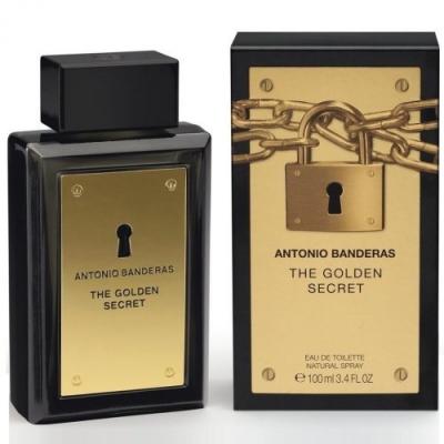 Antonio Banderas The Golden Secret for men-آنتونیو باندراس د گلدن سکرت مردانه