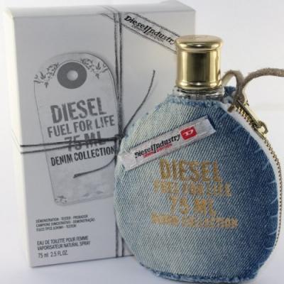 Diesel Fuel for Life Denim Collection Femme Tester-تستردیزل  فیول فور لایف دنیم کالکشن زنانه