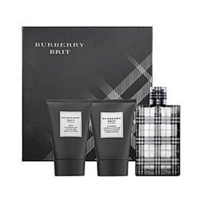 Burberry Brit Gift Set for men-ست باربری بریت مردانه 3 تیکه