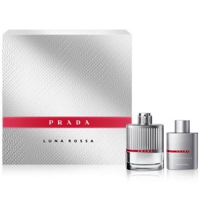 Luna Rossa Gift Set for men-ست پرادا لونا رزا مردانه 2 تیکه
