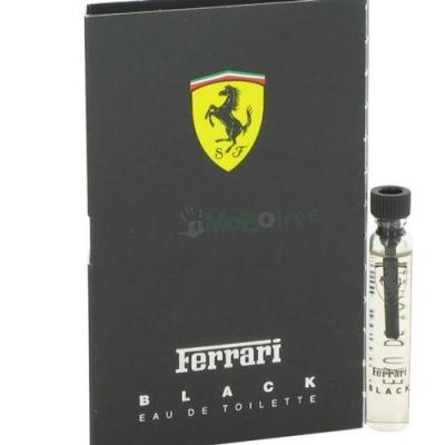 Ferrari Black Sample for men-سمپل فراری بلک (مشكي) مردانه