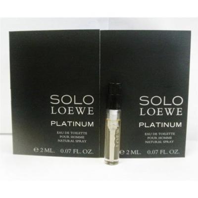 Solo Platinum Sample for men-سمپل سولو پلاتینیوم مردانه