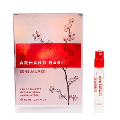 Sensual Red Sample for women-سمپل سنشوآل رد زنانه