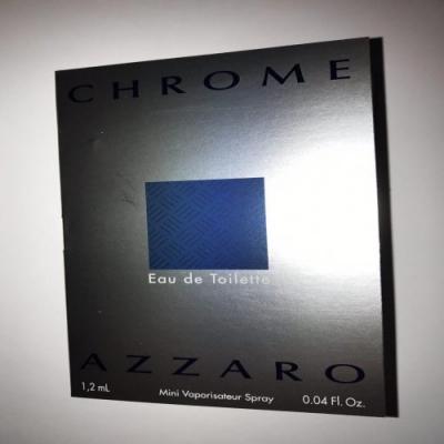 Azzaro Chrome Sample for men-سمپل آزارو كروم مردانه