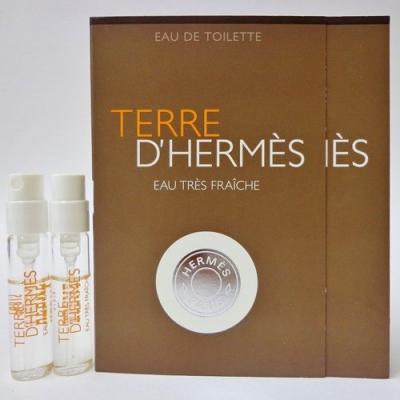 Terre d'Hermes Eau Tres Fraiche Sample for men-سمپل تق فرش مردانه (تق هرمس فرش مردانه)