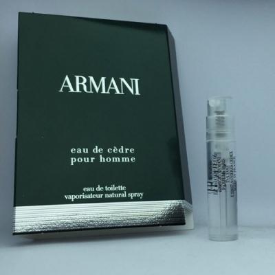 Armani Eau de Cedre Sample for men-سمپل آرمانی او د سدر مردانه