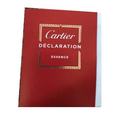 Declaration Essence Cartier Sample for men-سمپل دکلریشن اسنس کارتیر مردانه
