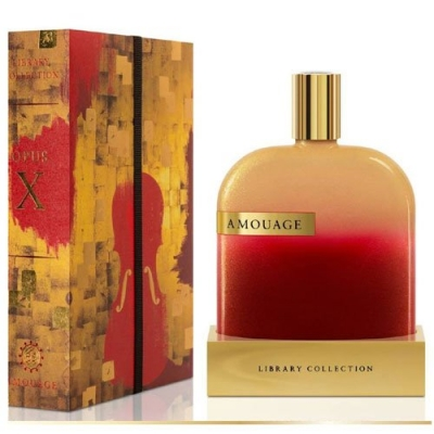 The Library Collection Opus X Amouage for women and men-آمواج د لایبرری کالکشن اپوس 10 مردانه و زنانه