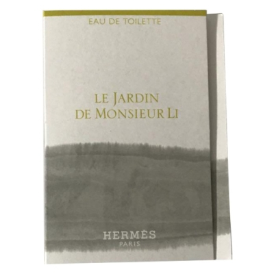 Le Jardin De Monsieur Li Hermes Sample for men and women-سمپل هرمس لا جاردین د موسیا لی مردانه و زنانه